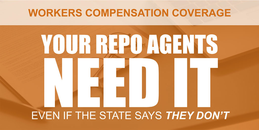 workers compensation for repo agents
