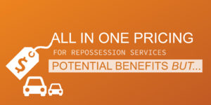 all in one repossession pricing