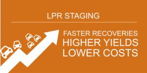 LPR staging for auto repossession