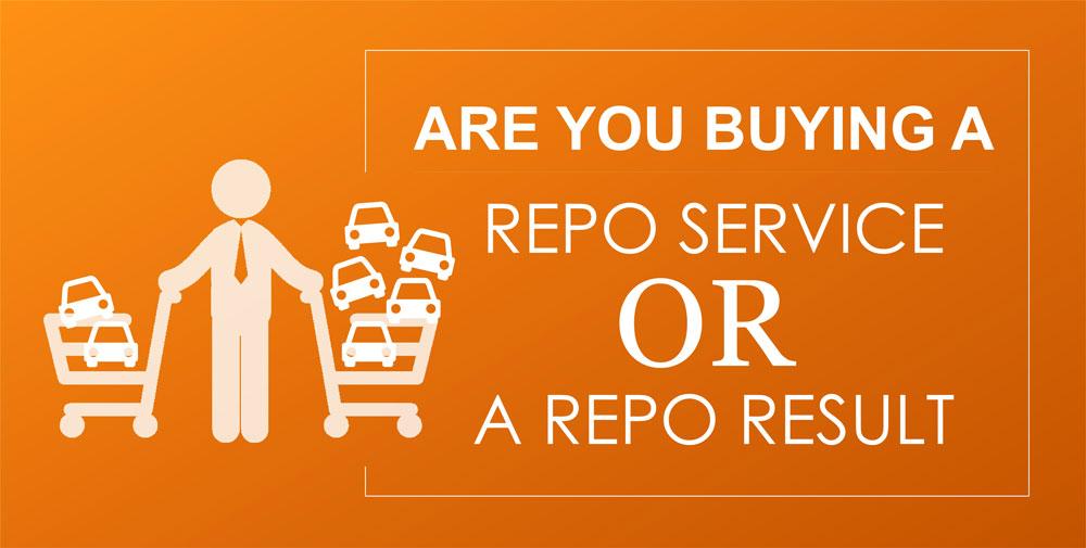 repossession service or result