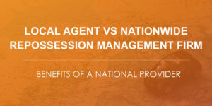 local repo agent vs repossession management firm