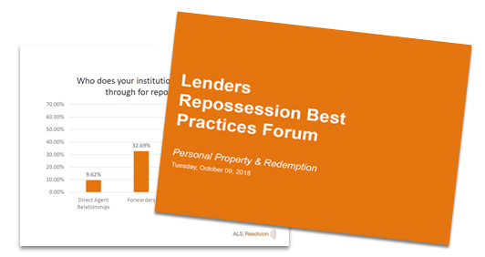 Repossessions Personal Property and Redemption Practices