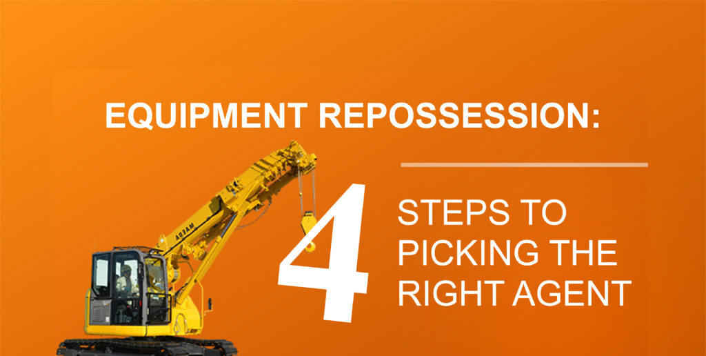 equipment repossession