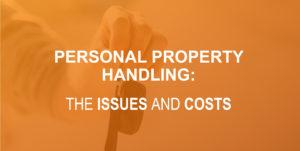 personal property handling