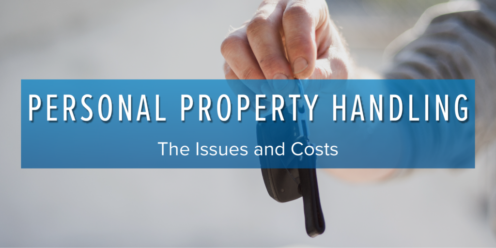 personal property handling