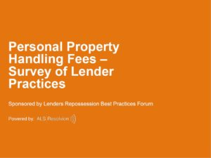 personal property handling poll