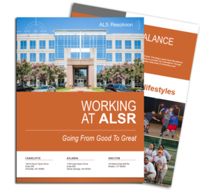 working at alsr