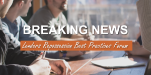 lenders repossession best practices