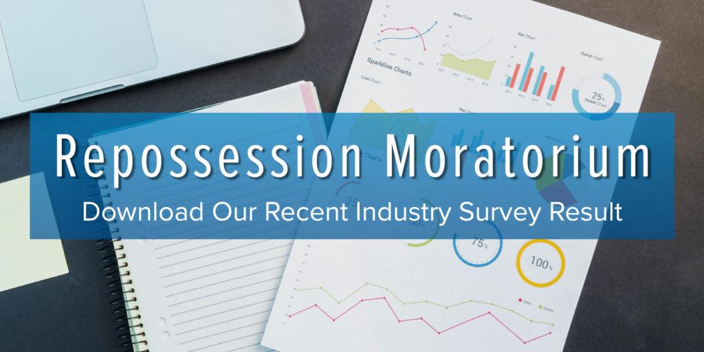 repo moratorium survey