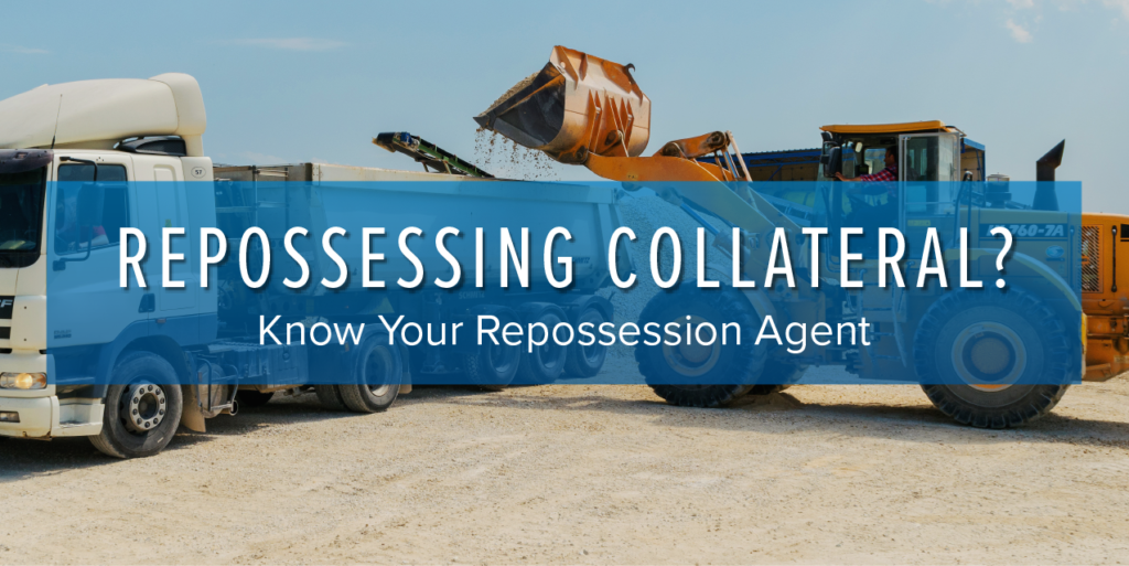 Know your repossession agent