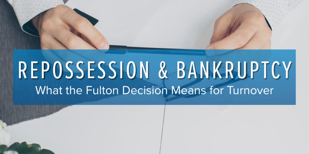 Repossession and Bankruptcy