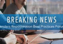 lenders repo best practices forum